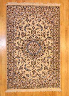 Nain Style Rug TAN80012231 Iran
