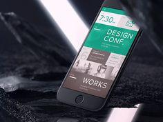 Mobile Homescreen Dashboard iPhone 6 by Ben Schade