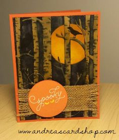 Among the Branches, Woodland Stampin' Up! SF! Blog Hoppers - Everything Fall — Andrea's Card Shop