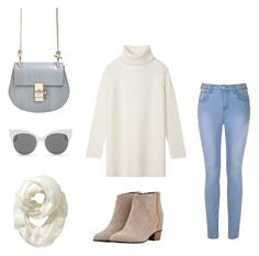 """""""sweet and innocent"""" by fashionlee-co ❤ liked on Polyvore featuring Chloé, Golden Goose, Ally Fashion, Tory Burch, Old Navy, Blanc & Eclare, women's clothing, women's fashion, women and female"""