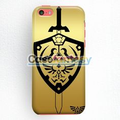 Zelda Master Sword Hylian Shield iPhone 5C Case   casefantasy