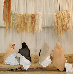 Curiosity. A shot taken in a carpet factory close to the historical areas of Memphis and Giza, Egypt