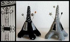 Eiffel Tower Pincushion - vir @Andrea / FICTILIS / FICTILIS / FICTILIS / FICTILIS / FICTILIS Potgieter