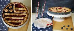 """Happy 4th of July – Rezept für diesen """"Pie with stars, stripes and berries"""""""