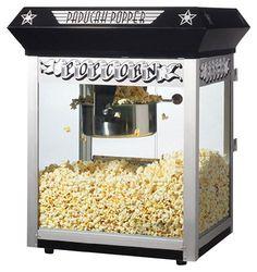 Great Northern Popcorn - 8-Oz. Popcorn Maker - Black