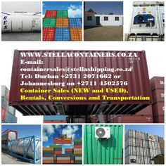 Shipping containers for sale or rental in Johannesburg Shipping Containers For Sale, Free Classified Ads, Conversation, Transportation, World, Passionate People, Amazing Things, Google, Sign