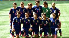Japan poses for a team photo