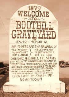 Boothill Cemetery Tombstone, AZ