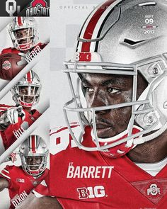 Basketball Posters, Basketball Is Life, Football Posters, Buckeyes Football, Ohio State Buckeyes, Football Photos, Sports Photos, Sports Graphic Design, Sport Design