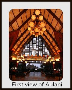 Aulani - a Disney resort in Hawaii