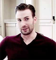 Chris Evans is adorable in each and every way. <3