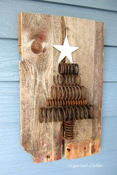Holiday Junk: Re-purposed Rusty Spring Tree Industrial Spring Christmas Tree Tutorial<br> I made my very first Christmas project today. I guess it's Christmas in July! Country Christmas, Winter Christmas, All Things Christmas, Vintage Christmas, Christmas Holidays, Christmas Ornaments, Christmas Movies, Simple Christmas, Christmas 2019