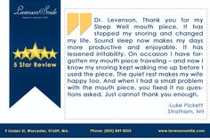 We are Thrilled...!!! A few words from one of our happy patients!!! #DrLevenson #LevensonSmile