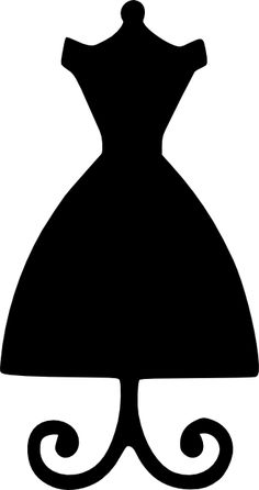 dress form yes! dress form yes! Silhouette Cameo, Machine Silhouette Portrait, Woman Silhouette, Silhouette Files, Dress Card, Diy Dress, Pach Aplique, Dress Form Mannequin, Scan And Cut