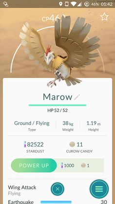 A bunch of you wanted me to evolve my Curow...