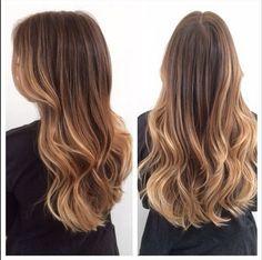 El estilo de este look es CASI como el te�ido �ombr� pero con un twist. | 16 Razones por las que querr�s te�irte el cabello al estilo