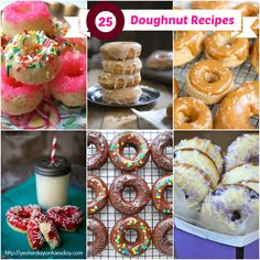 DIY Doughnuts-25 Donut Recipes!!!