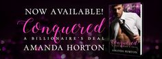 #NewRelease #Conquered #BookSmackedPromo #AmandaHortonIts Live !!!!!!!!!!! And its free for till Sunday  Conquered by Amanda Horton is Now Live  Add to TBR: http://ift.tt/2lIe7sw  Buy Links:  Amazon US: http://amzn.to/2m3Urmo  Amazon UK: http://amzn.eu/dDNynpU  Amazon CA: http://a.co/59EQGRW  Amazon AU: http://ift.tt/2mpxnQ0  Blurb  For cafe owner Noelle a smouldering billionaire and a paparazzi scandal were never on the menu  Hunter Maxwells heart and pockets are lined in gold  but his soul…