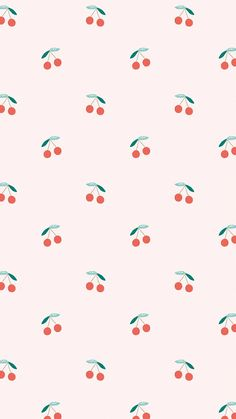 Download premium vector of Vector seamless cherry pattern pastel
