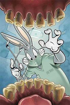 Bugs bunny Odontologo :)