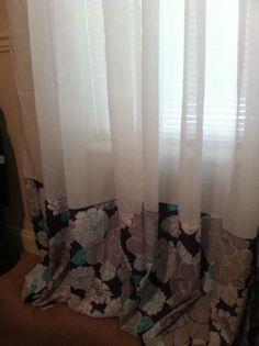 Easy Panel Curtain Tutorial