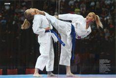 Risultati immagini per coral bistuer patada Shukokai Karate, Karate Girl, Female Martial Artists, Martial Arts Women, Karate Kumite, Kyokushin Karate, Martial Arts Workout, Girl Fights, Female Fighter