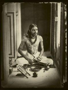 Ram Singh II Maharaja of Jaipur (1833-1880)    Self Portrait, 1856