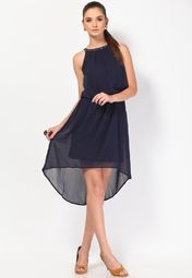 Vero Moda Blue Dress for Rs.2,395.00 - Rs.1,437.00 (Instant Discount) = Rs.958.00 with Free Shipping