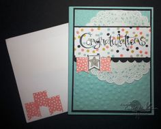 STAMPIN' UP! CHICKSTAMPER--SALE-A-BRATION 'CONGRATULATIONS'!! Click on picture for supplies :)
