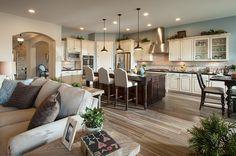 maracay homes Transitional Kitchen Decorators Phoenix arizona new homes great room new homes Tucson white cabinet