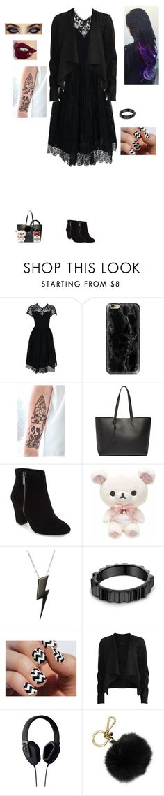 """""""We're going out tomorrow~"""" by the-sickest666 ❤ liked on Polyvore featuring Pauline Trigère, Casetify, Yves Saint Laurent, Kenzie, BCBGeneration, Edge Only, Lynn Ban, VILA, Pryma and MICHAEL Michael Kors"""
