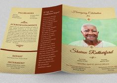 Princess Funeral Program Template Publisher by Godserv on Etsy ...