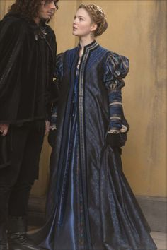 This beautiful blue costume has been used twice in The Borgias. It was first seen in 2011 on Melia Kreiling as Bianca Gonzaga, and was then used again in 2013 on Holliday Grainger as Lucrezia...
