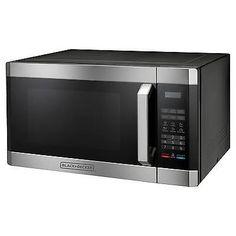 Superior Microwave Ovens 150138: Black+Deckerand#153: 1.6 Cu. Ft. 1100