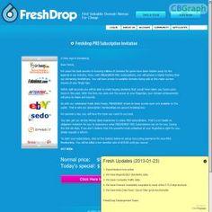 [GET] Download Freshdrop - The Domain Search Engine Bonus! : http://inoii.com/go.php?target=freshdrop