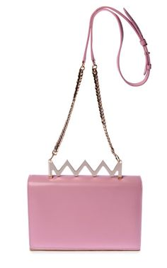 Sylvia Shoulder In Pink by Sara Battaglia for Preorder on Moda Operandi