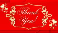 """Very classy """"Thank You"""" e-card for any occasion."""