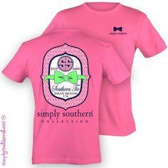 Simply Southern Pink Tee Shirt | MARY & MAK