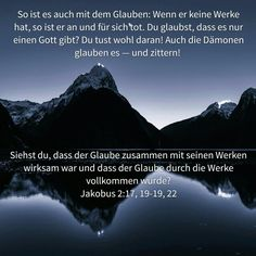 Auch Dämonen glauben an Gott!