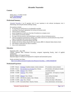 7 Best Resume Template Open Office Images Resume Template