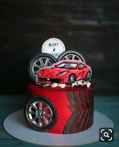 720 Likes, 24 Kommentare - Tor . Birthday Cakes For Men, Car Cakes For Men, Race Car Cakes, Cakes For Boys, Male Birthday, Bmw Cake, Ferrari Cake, Buttercream Cake, Fondant Cakes
