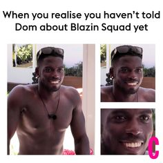24 of the best memes about Love Island's Marcel being in Blazin' Squad- CosmopolitanUK Memes In Real Life, Love Memes, Best Memes, Love Island Contestants, Film Studies, Best Love Quotes, When You Realize, Laughing So Hard, Funny Texts