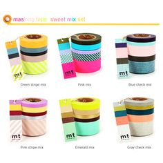 mTape Washi Tape Sweet Set
