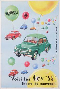 Renault 4cv - 1955 -
