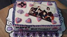 one direction pre-teen cake