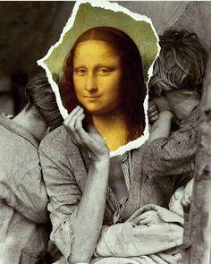 Mona Friends, La Madone, Mona Lisa Smile, Altered Art, Amazing Women, Pop Culture, Che Guevara, Collage, History