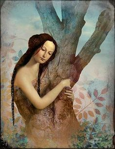 ☽O☾ The Witch Within - pagan novel by Iva Kenaz - moods ☽O☾ art - Tree of Life, Catrin Welz-Stein Photoshop, Digital Image, Digital Art, Image Originale, Magic Realism, Archetypes, Conte, Surreal Art, Art Images