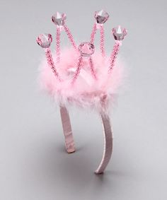 Take a look at this Bubblegum Diva Pink Princess Crown Headband on zulily today!