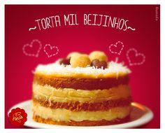 Torta Mil Beijinhos.