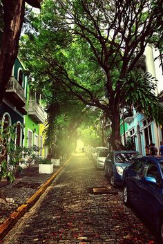 The light at the end of the street, San Juan, Puerto Rico (by donchris!).